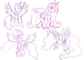 Sketch sheet 5 by Alarious