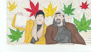 Jay and Silent Bob by OrphanAlien