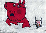 Attack on Peppa Pig by Imperius-Rex