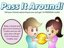 Earn 10 Premium Credits for Yourself and your Frie by brish08