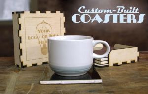 Custom-Built Coasters Advertisement by davincisghost