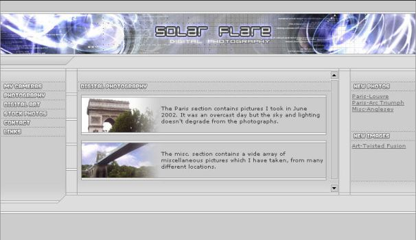 Solar Flare Photography Site by arporter