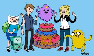 Adventure Time - Ebony and Brandyn's 21st Birthday by bratchny