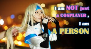 I am not JUST A COSPLAYER by elpheal