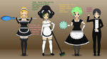 Keytee-Chan Maids request by xSamiamrg7x