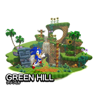 Modern Green Hill Zone by WingedKnight7