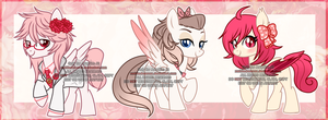 Valentines Day Adoptables (OPEN) by xWhiteDreamsx