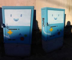 BMO in the streets by CAVAFERDI