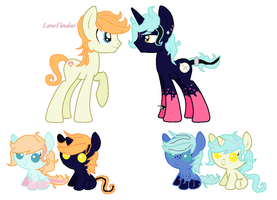 Silent Knight X Love Finder [CLOSED] by CuppieCakeAdopts