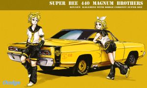 Super Bee Bros by 400Four
