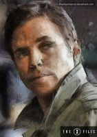 The X Files - Alex Krycek by thephoenixprod