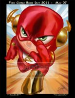 TOYART_FLASH1_PAINTING by CrisDelaraArt