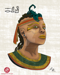 Selket ( Egyptian God of Antivenom and Marriage ) by ChenoaEllinghaus