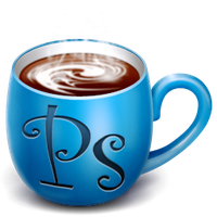 Photoshop coffee cup by Syxxia