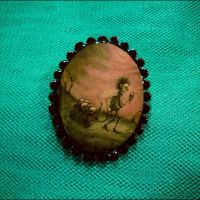 Scary Stories Brooch and penda by asunder