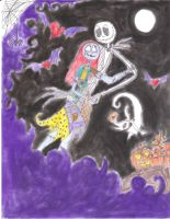 Jack and Sally by Piddies0709