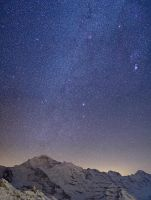 Jungfrau under the stars by Arafinwearcamenel