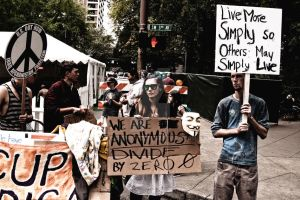 Occupy Portland - Oct 8th - 2 by coelphoto
