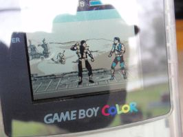 Ultimate MK3 8-bit demake Game Boy Color by z80artist