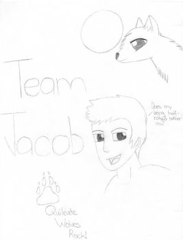 Team Jacob Sketch by CrazyCartoonGirl