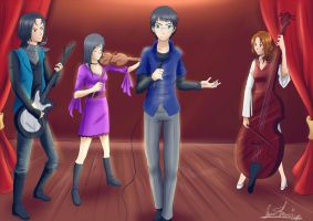 Com: Harry pooter and their band by xSilverDragoonx