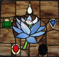 Mox Lotus Stained Glass by AutobotWonko