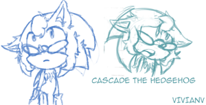 Cascade the Hedgehog by YaoiMeowmaster