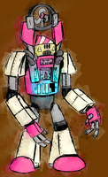 Here Comes the Ice Cream Robot by Number9Robotic
