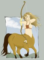.: Centaur :. by melimelo