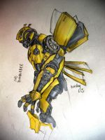 sad bumblebee by micky86