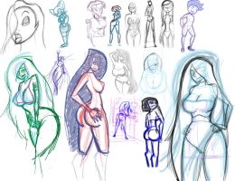 sketches 20142702 P1 by ErosyXXI