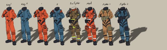 Space suits by EOTB