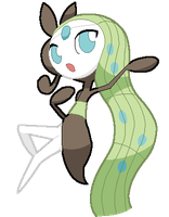 Meloetta the Melody Pokemon by Deviantroid