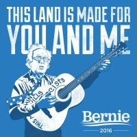 This Land Bernie Sanders by coffeestained