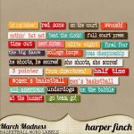 March Madness Bonus Labels by harperfinch