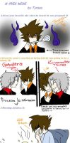 Gokudera and Tsuna TYL Meme Mpreg by Enildark