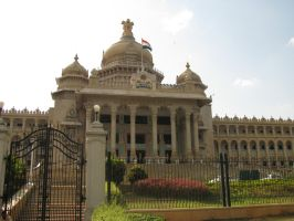 Bangalore Vidhan Soudha by icy-cool