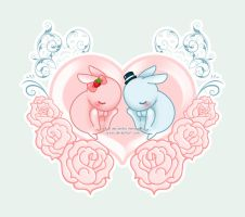 A Heart Full of Roses by aresa