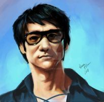 Bruce Lee by hasunkhan