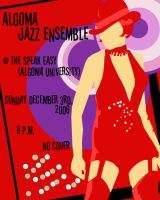 Jazz Night Poster by estranged-illusions