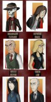 Skulduggery P Book 1 Cast by Expression