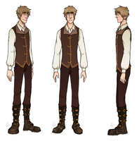 Steampunk!Arthur Character Sheet by SarcasticBrit