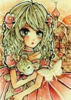 ACEO LittlePrincess by ShokoMakii