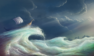 Escape the Storm by Solfour