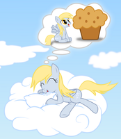 Derpy Dreams by rainbownspeedash