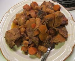 Golden Crockpot Pork Chop Stew 1 by Windthin