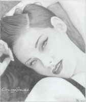 Kristen Stewart by OrangeBeuzz