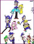 The Man in Purple - 15 Years of Waluigi by mrm64