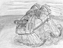 Ambuscade JumpTank Takes To The Air by TheCentipede