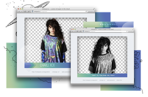 Pack png 850 // Charli XCX. by ExoticPngs
